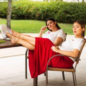 Empreendedora de moda sustentável